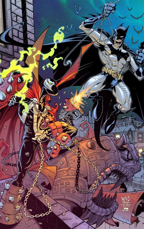Spawn VS Batman :: COLOUR