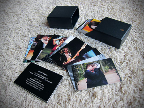 Rewarding Photography Business Card