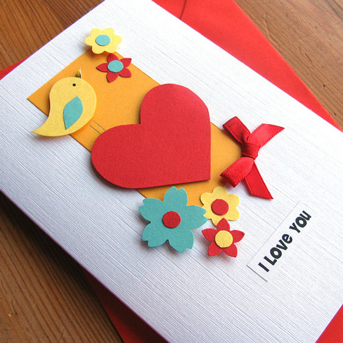 Creatively Crafted Valentines Card