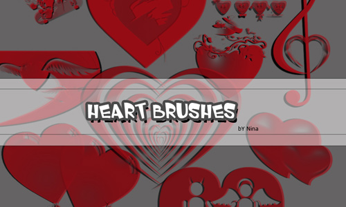 Heart Vector Brushes