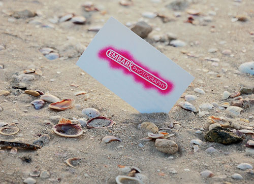Crunched Photography Business Card