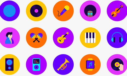 Music Icon Library