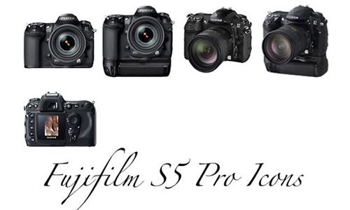 Fuji S5 Pro Icons