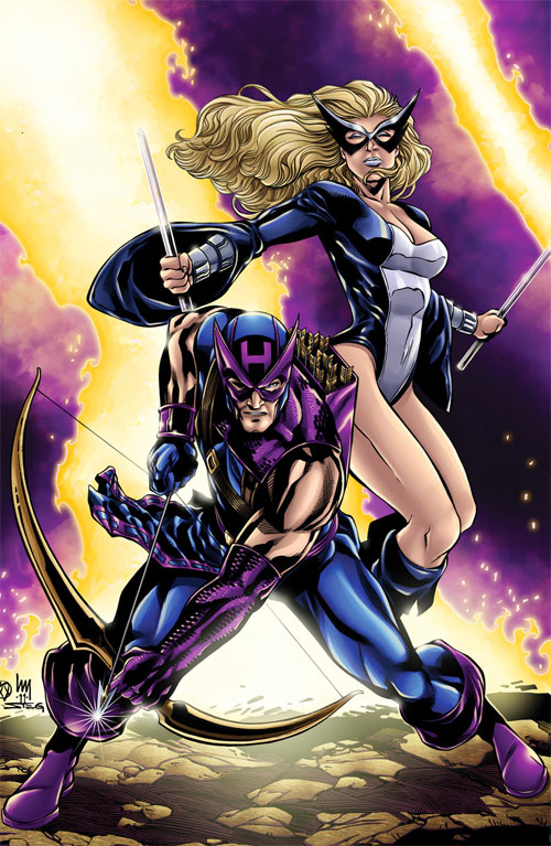 Hawkeye and Mockingbird Color