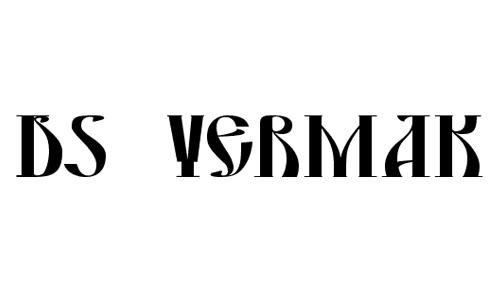 DS Yermak_D font