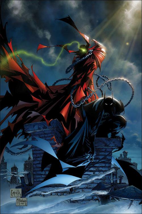 spawn and batman issue 1
