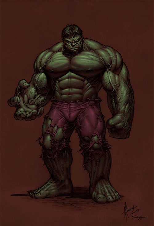 Green Hulk by Dale Keown