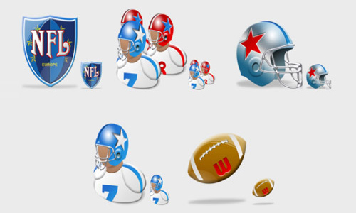 NFL Vista Icons