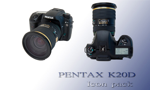 Pentax K20D Icon pack