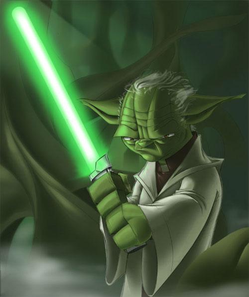 Strong Yoda