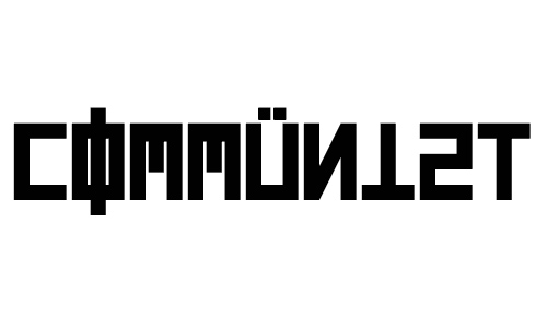 Communist Regular font