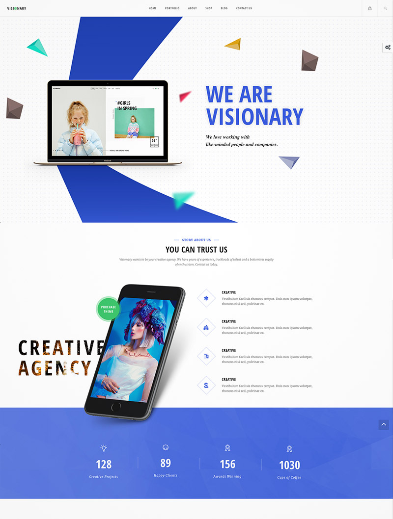 creative agency wordpress