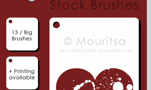 Brush Pack Hearts