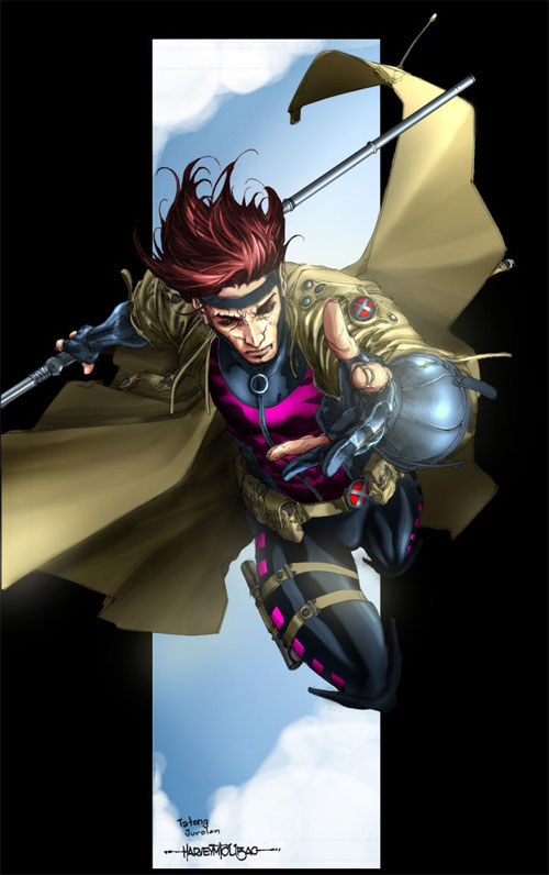 Harvey T. : Gambit colored