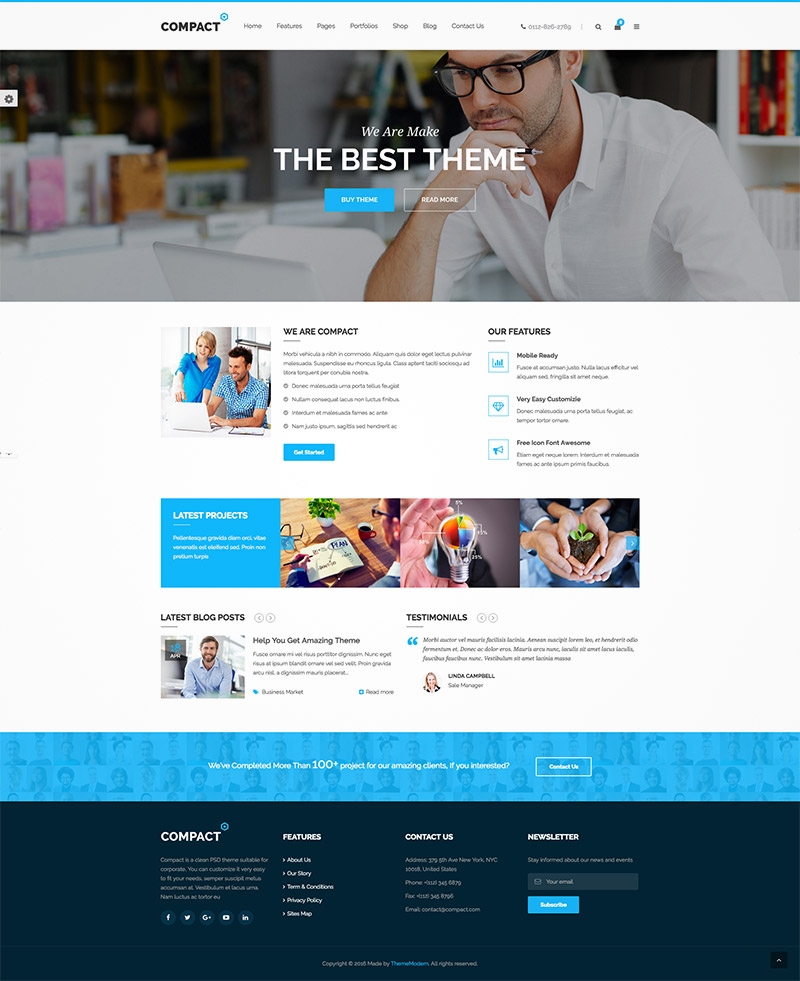 corporate multipurpose themes