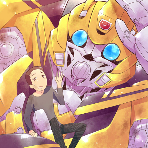 Bumblebee and Sam
