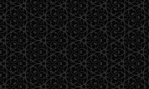 Fancy designed Black and White pattern