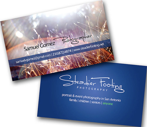 Fabulous Photography Business Card