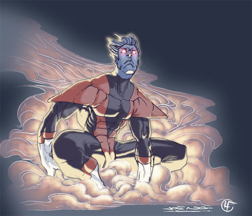 Ngboy's Nightcrawler Colored
