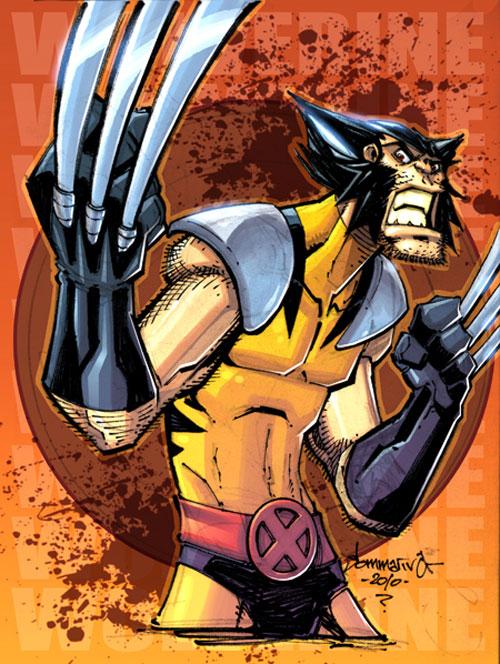 OC2 sketch 09 :: Wolverine
