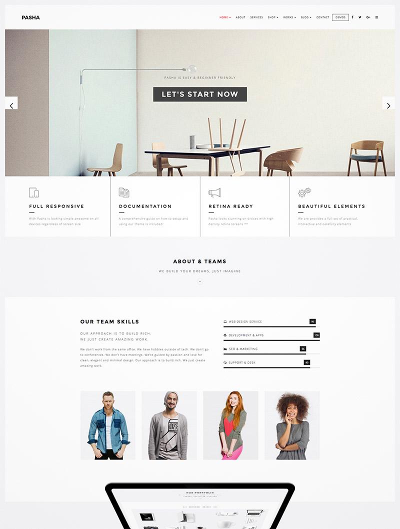 minimal creative design