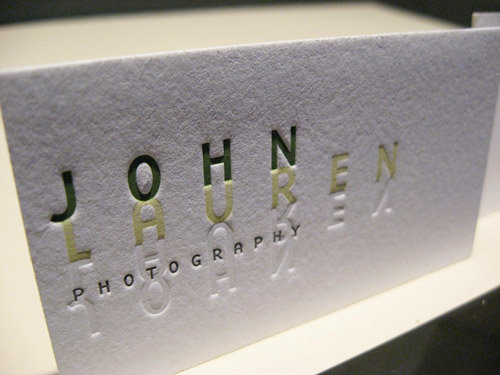 Really Nice Photography Business Card