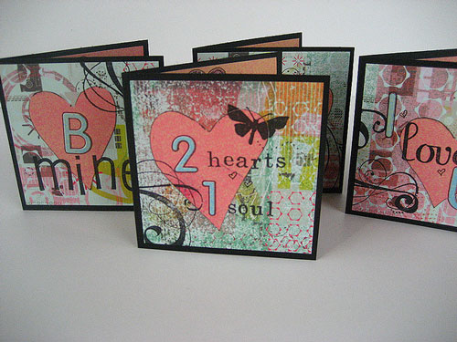Simply Expressive Valentines Card