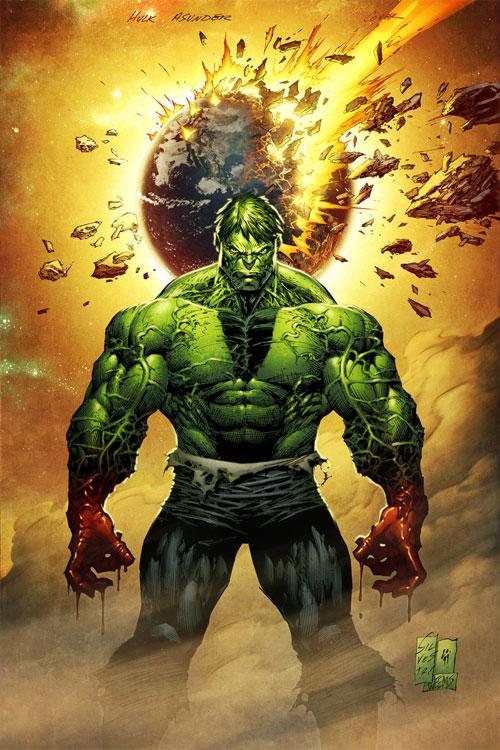 Hulk Asunderer coloured