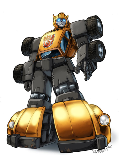 tf g1 bumblebee inks and color