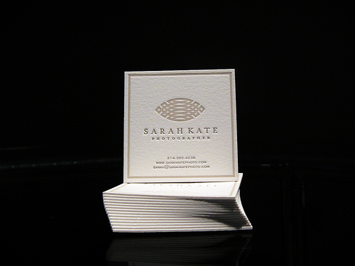 Very Cool Photography Business Card