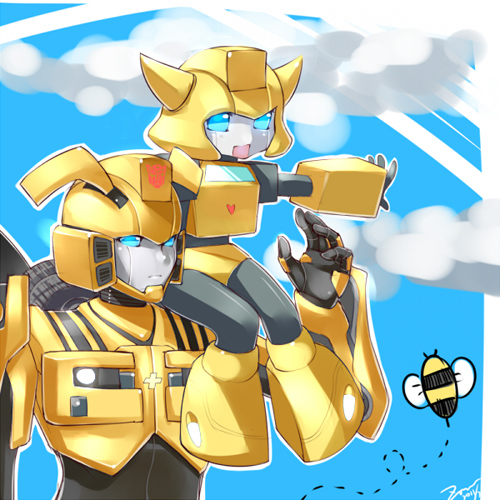 Bumblebee X Bee