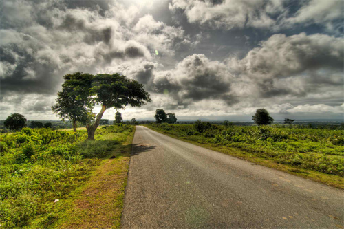 Road to Kabini