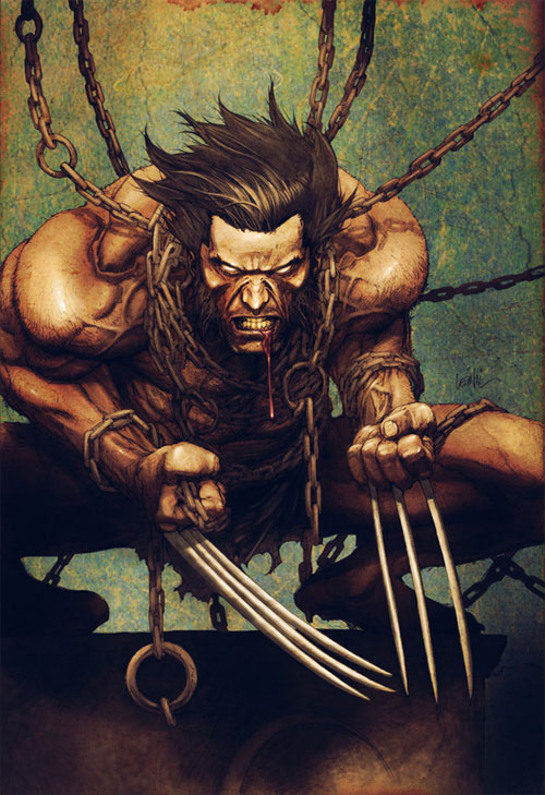 Leinil yu Wolverine color 4fun