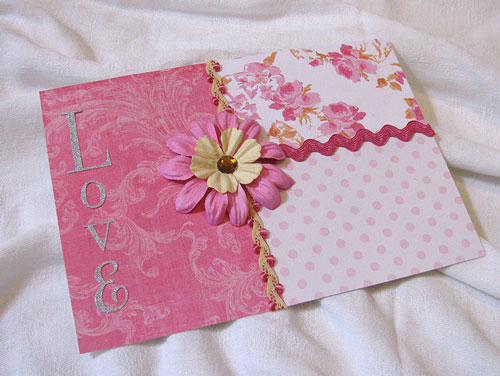 Simply Fascinating Valentines Card