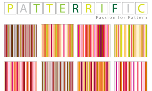 Seamless Pixel Patterns Colorful Lines
