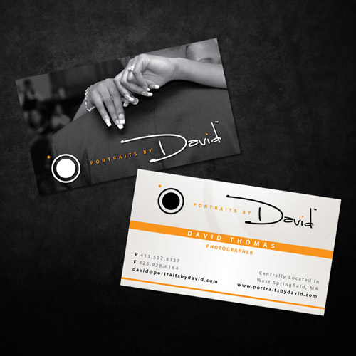Really Elegant Photography Business Card