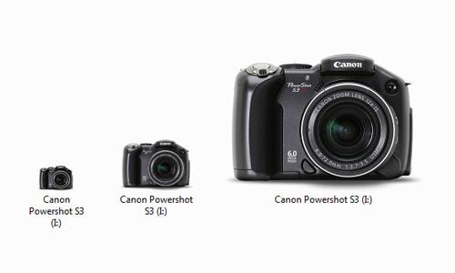 Canon Powershot S3 icon