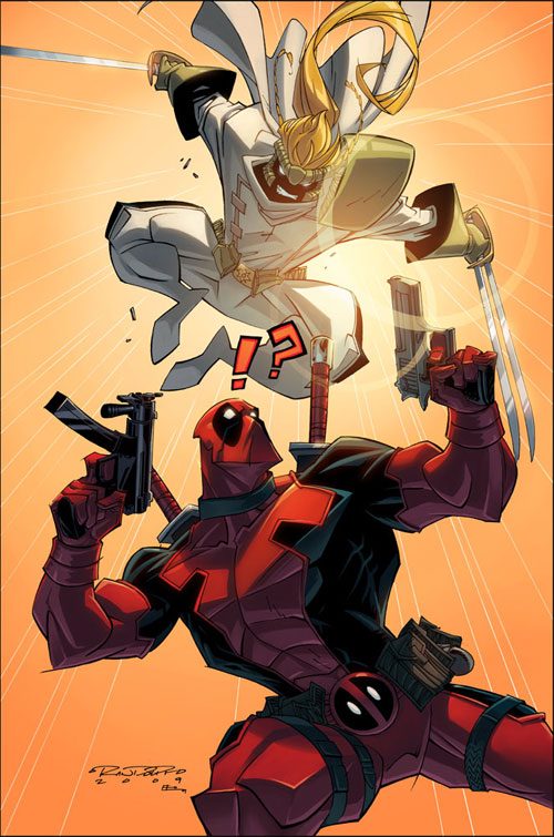 Deadpool V. Shatterstar::Color