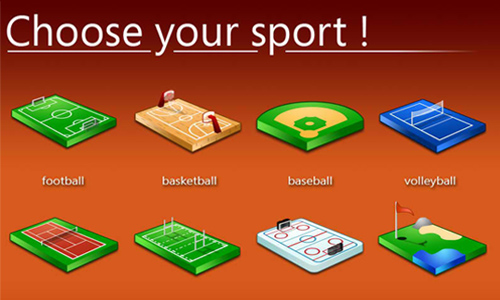 Choose Your Sport Icons