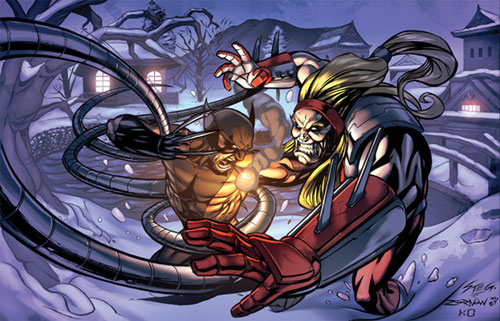 Wolverine Vs Omega Red