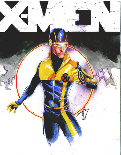 X-MEN Cyclops cover img
