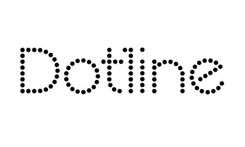 Dotline Bold font