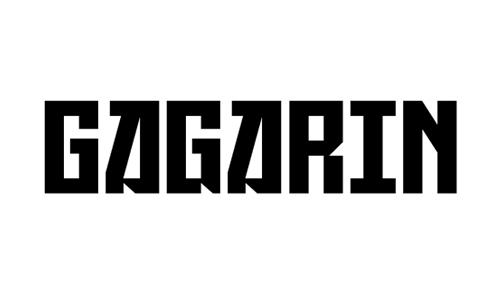 gagarin font