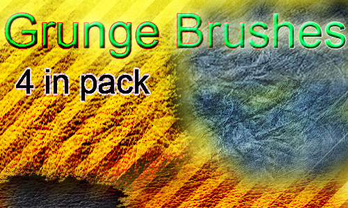 new grunge brushes