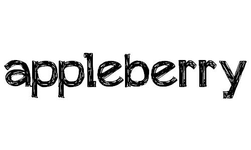 appleberry font
