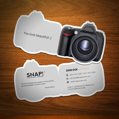 33 photography business card inspirations naldz graphics creative photography business card colourmoves