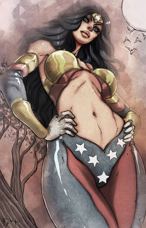 wonderwoman redesign