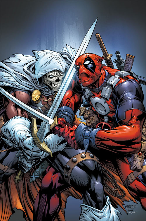 Cable-Deadpool issue 36 cover