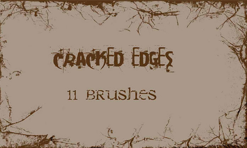 Cracked Edges - PS Brushes