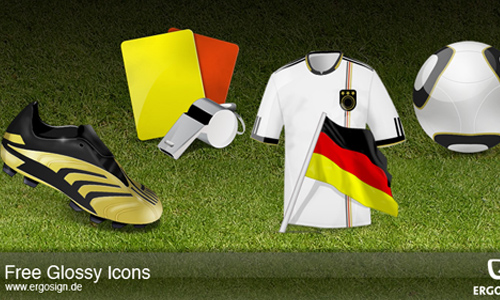 Icons for Soccer Worldcup 2010